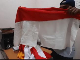 Bosan Lama Tak Sekolah, 7 Bocah Rusak dan Robek Bendera Merah Putih