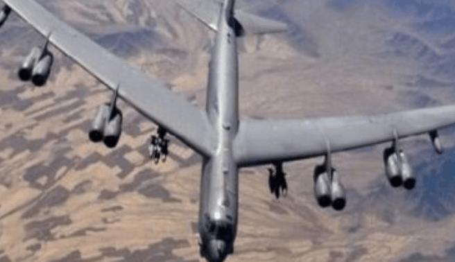 Bomber B-52 AS Serang Taliban di Afghanistan