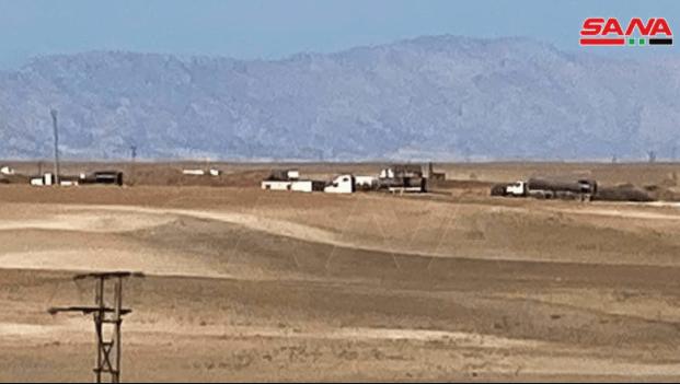 Konvoi 80 Kendaraan Tanker AS Sarat Minyak Curian Tinggalkan Suriah