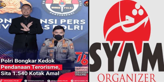 Hadiah Kemerdekaan, Mabes Polri Bongkar Kedok Pendanaan Terorisme, 1.540 Kotak Amal Disita