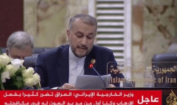 Menlu Baru Iran di KTT Baghdad: AS Penyebab Utama Ketidakamanan Kawasan
