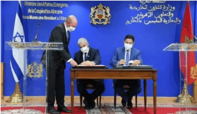 Israel dan Maroko Tandatangani Sejumlah Perjanjian