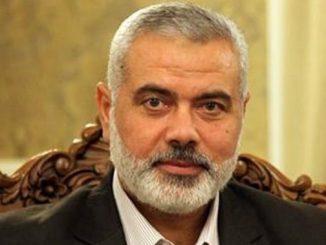 Ismail Haniyeh Terpilih Kembali Sebagai Ketua Gerakan Hamas