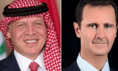 Pertama Kali! Komunikasi Raja Yordania dan Assad