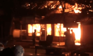 Video Kebakaran Hebat Pasar Nguling Pasuruan