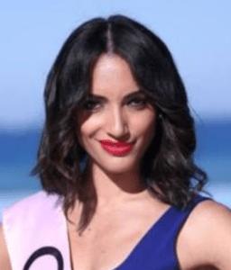 cubana en concurso de belleza