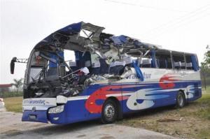 tragico accidente del transito cuba