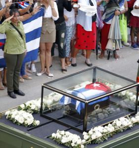 RESTOS MORTALES DE FIDEL CASTRO REGRESAN A SU TIERRA NATAL