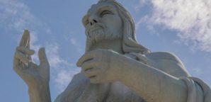 El Cristo que bendice a La Habana