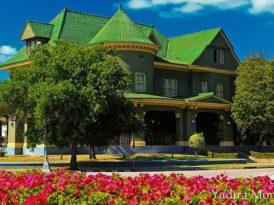 La casa de las tejas verdes