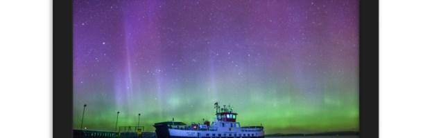 MV LOCH TARBERT – LOCHRANZA FERRY – NORTHERN LIGHTS