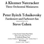 "Klezmer Version of ""Nutcracker"" Available"