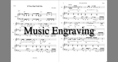 Music Engraving Services
