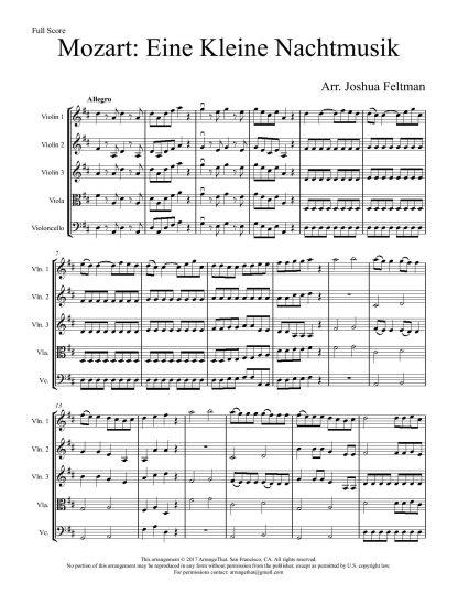 Mozart Eine Kleine