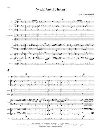 Verdi Anvil Chorus