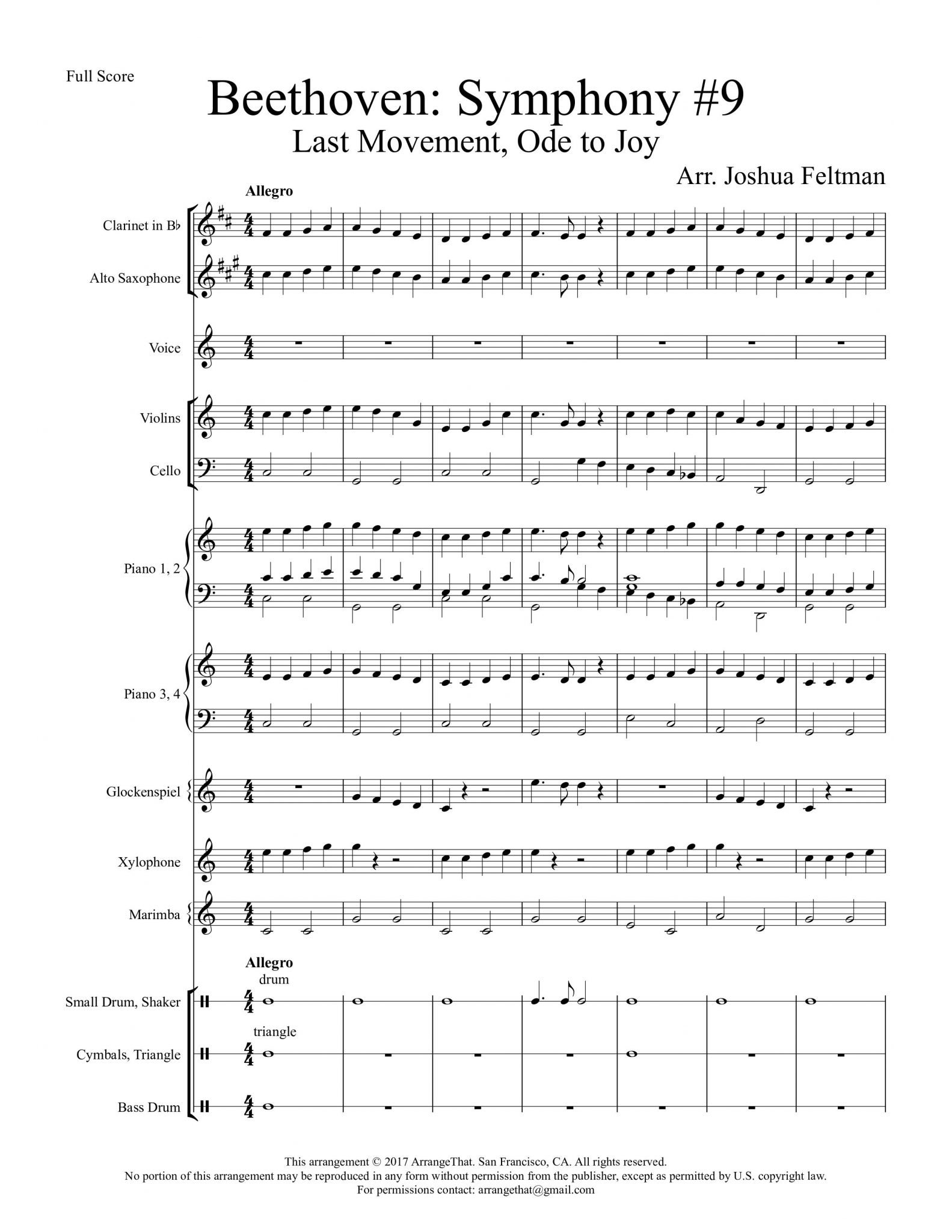 Beethoven: Symphony 9,