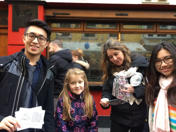 Treasure Hunt Kate & Co, Friday 30 DEc 2016 with Arran Henderson & Dublin Decoded tours