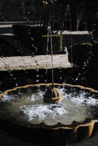 Fuente en el Generalife