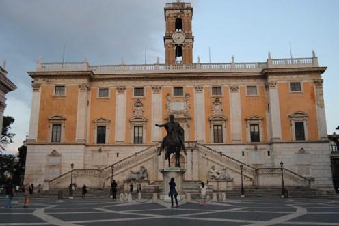 Vista de la Piazza di Campidoglio
