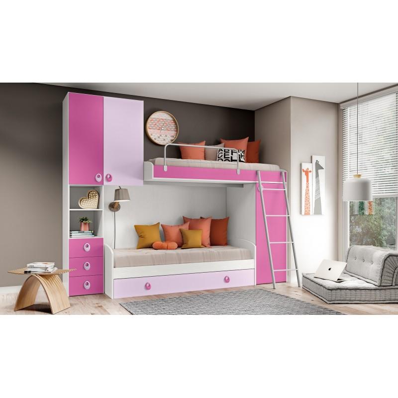 Cameretta Modello Ikea Arts101bfrlmadm Consegna Gratuita Arredamentishopit