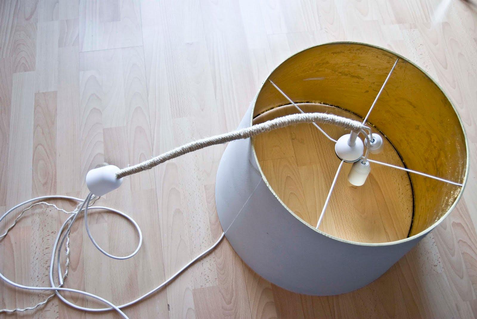 Come creare un lampadario fai da te in stile shabby -> Lampadario Cameretta Fai Da Te