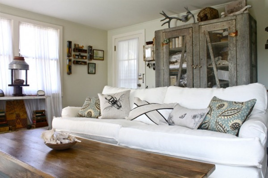 Camera Da Letto Mansardata Stile Rustico Moderno Internal Design : Le variazioni moderne dello shabby chic foto