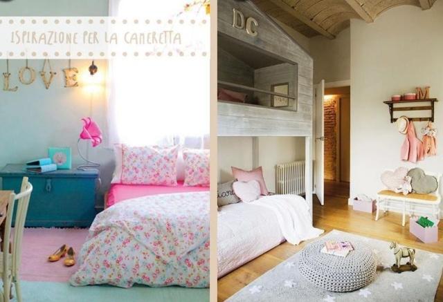 Camerette romantiche per bambine idee facili da imitare for Idee cameretta bimba