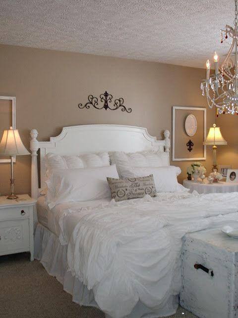 Camere shabby chic le 15 cose che non devono mancare - Coperte da letto ...