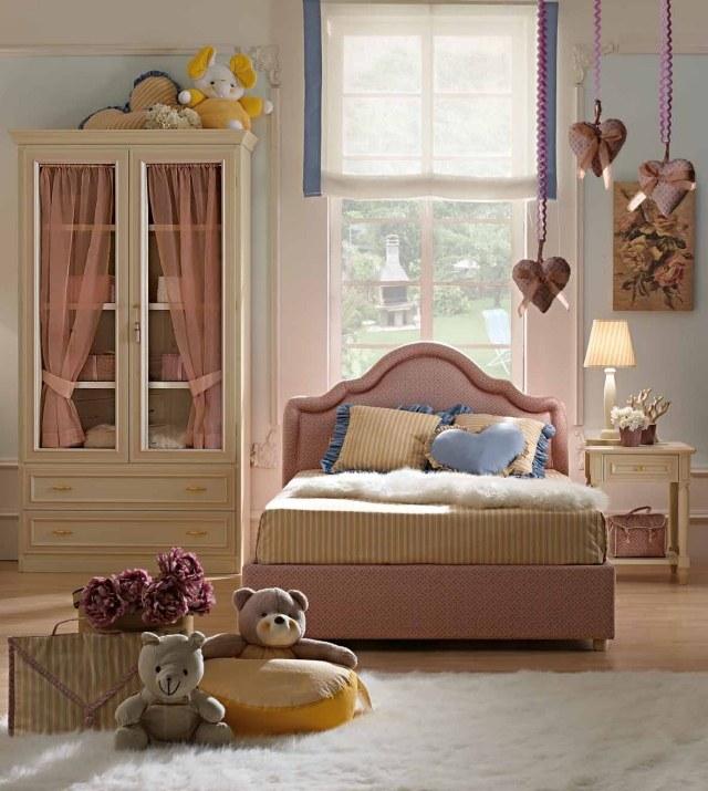Camerette romantiche per bambine idee facili da imitare - Camerette country chic ...