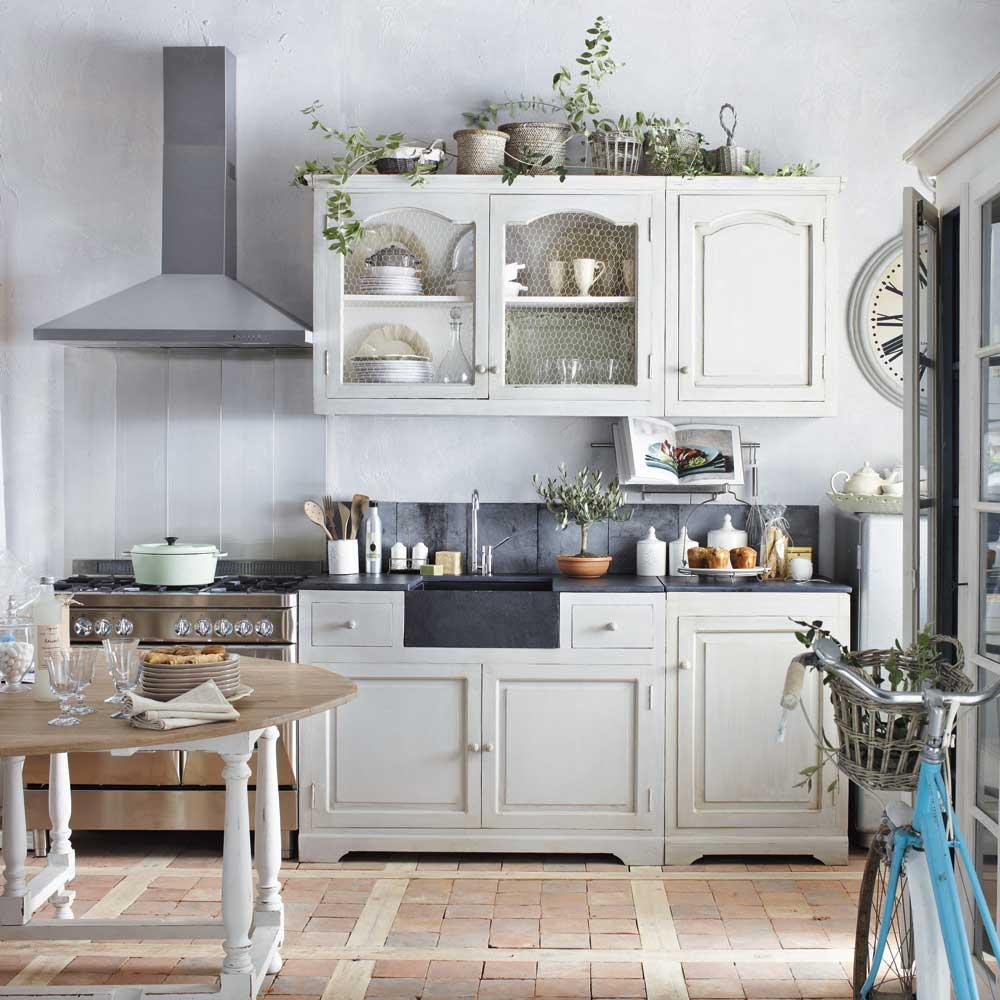 cucine maison du monde accessori e mobili in stile shabby foto. Black Bedroom Furniture Sets. Home Design Ideas