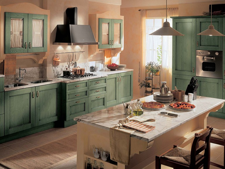 Emejing Cucine Country Scavolini Contemporary - Ideas & Design ...