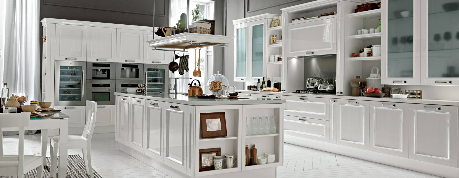 Le cucine in stile provenzale e industrial chic febal 2015 - Cucine in muratura stile provenzale ...