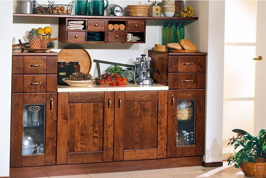 Le cucine rustiche di mondo convenienza e lube for Credenza cucina mondo convenienza