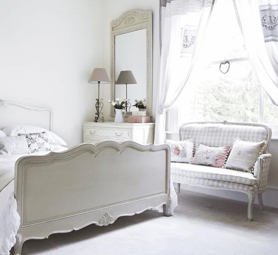 Casa vittoriana inglese in stile shabby chic foto - Camera da letto stile shabby chic ...