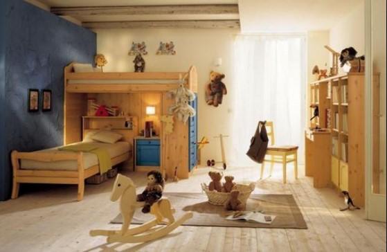 Camerette stile country: 8 idee originali per la stanza dei bimbi
