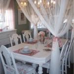 Passione shabby sala da pranzo