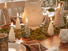 Tavola di Natale tovaglioli di stoffa e tutorial