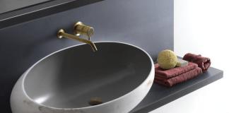 Bagno gong: marmo chairo