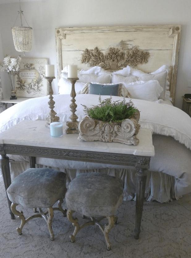 Come realizzare una perfetta camera da letto shabby chic - Cornici per camere da letto ...