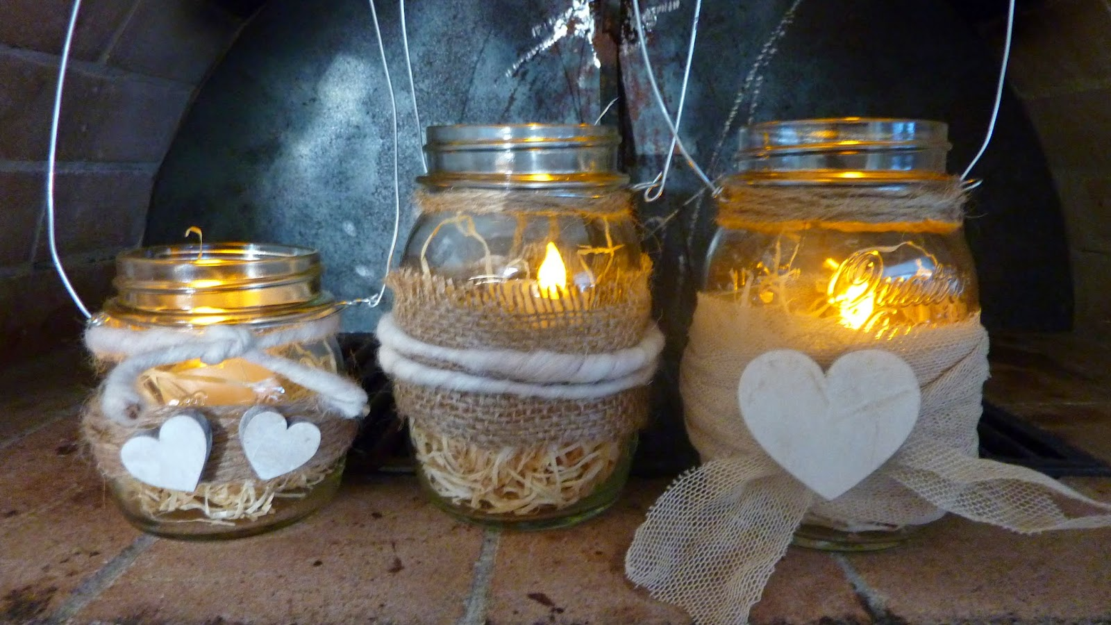 Candele shabby e portacandele fai da te ecco i nostri - Come fare le candele profumate in casa ...