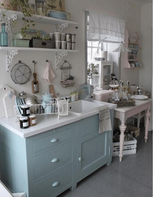 Come arredare una cucina shabby chic senza sbagliare for Puoi ottenere un prestito per costruire una casa