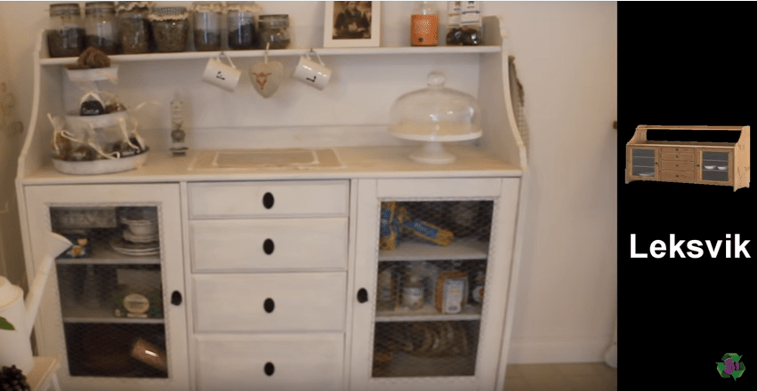 Dipingere i mobili dell 39 ikea si pu video for Credenze shabby chic ikea