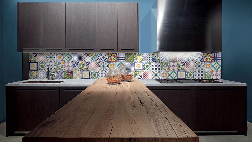 Le piastrelle maiolica per cucina per dare un tocco shabby - Piastrelle cucina vintage ...