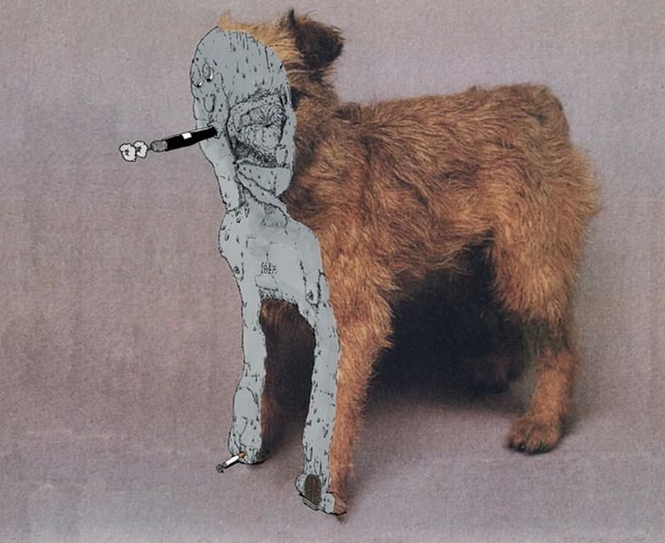 Mudwig 'Teddy's Edge', Acrylic on Poster, 2010