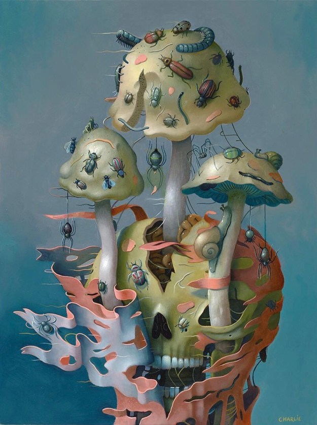 "42831894_168005854138055_6346491272048123588_n Previews: ""Hi-Fructose Presents: The Art of The Mushroom"" @ Compound Gallery Random"