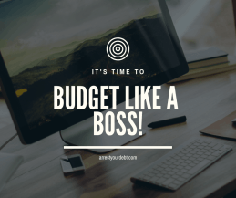 Learn how to budget in order to live your debt free life!