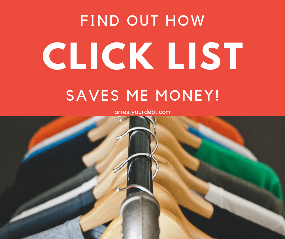 I used Kroger and Fry's Click List and found it saved me a bunch of money!