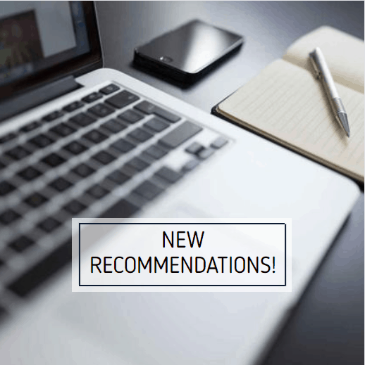 New Recommendations!