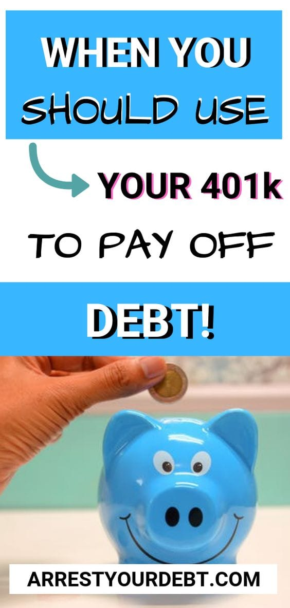 Should you use your 401k to pay off debt?