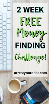 2 week free money finding challenge